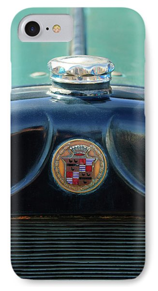 1925 Cadillac Hood Ornament And Emblem Phone Case by Jill Reger
