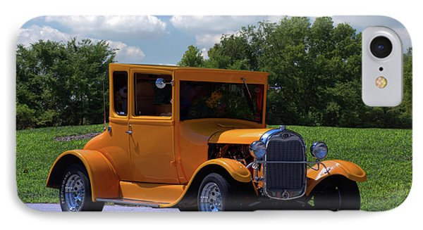 IPhone Case featuring the photograph 1926 Ford Hot Top T Hot Rod by Tim McCullough
