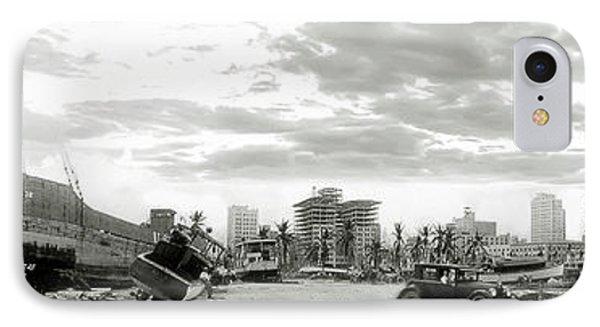 1926 Miami Hurricane  IPhone Case by Jon Neidert