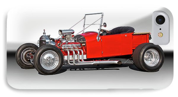 1927 Ford Bucket T Roadster Pickup I IPhone Case by Dave Koontz