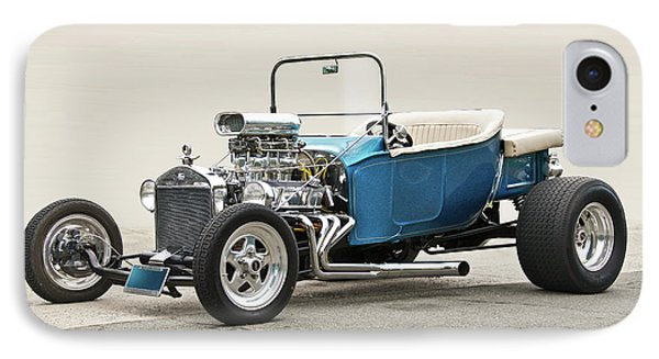 1927 Ford 'bucket T' Roadster V IPhone Case by Dave Koontz
