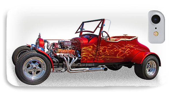 1927 Ford Hot Rod IPhone Case by Nick Gray