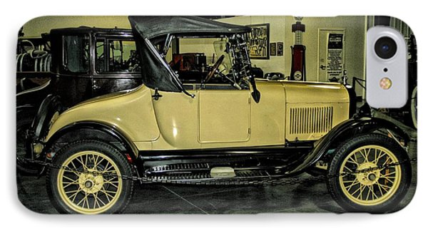 1927 Ford Model T Sport Roadster IPhone Case by CJ Anderson