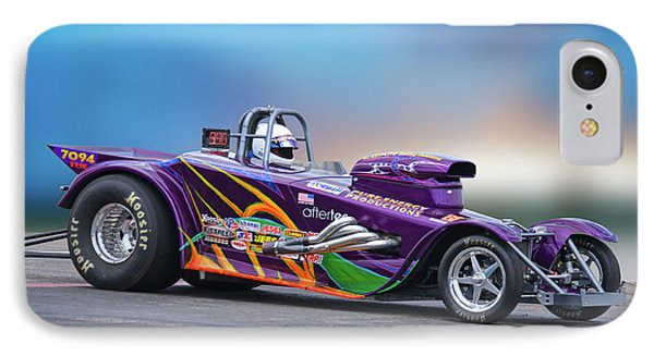 1927 Ford 'super Gas' Roadster II IPhone Case by Dave Koontz