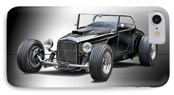 1927 Ford 'track T' Roadster II IPhone Case by Dave Koontz