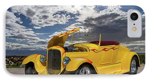 1927 Roadster Ford Hot Rod IPhone Case by Nick Gray