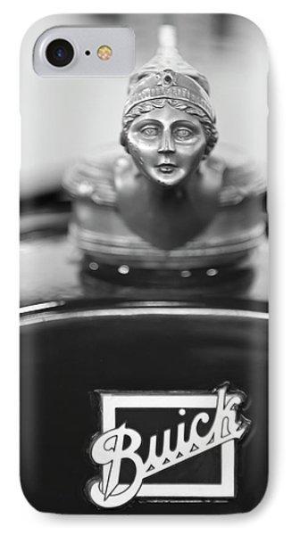 1928 Buick Custom Speedster Hood Ornament 4 Phone Case by Jill Reger
