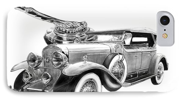 1929 Cadillac  IPhone Case