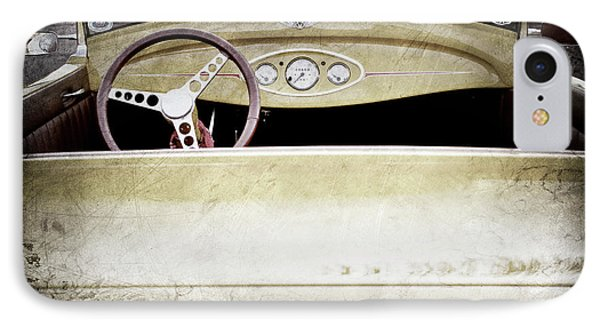 1929 Ford Model A Roadster -0040ac IPhone Case by Jill Reger