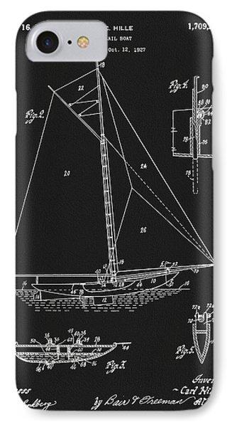 1929 Sailboat IPhone Case