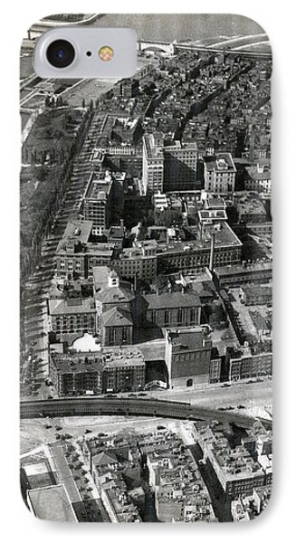 IPhone Case featuring the photograph 1930 Along Charles Street, Boston by Historic Image