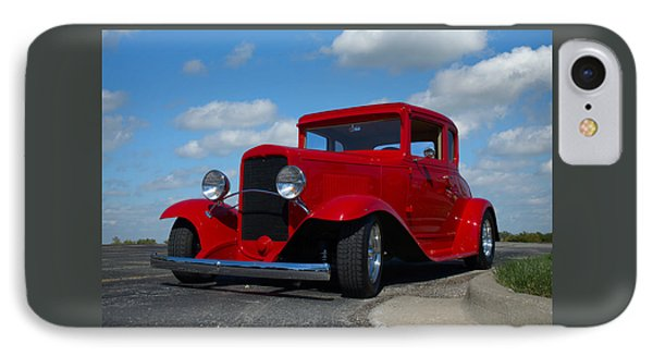 IPhone Case featuring the photograph 1930 Chevrolet Coupe Hot Rod by Tim McCullough
