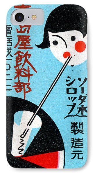1930 Japanese Restaurant Ad IPhone Case by Historic Image