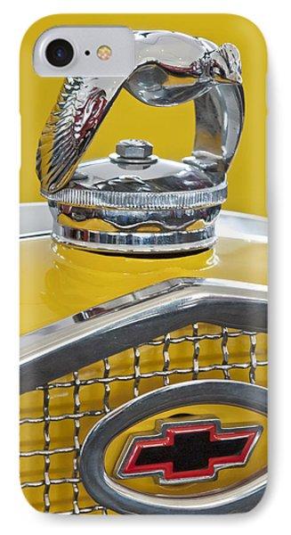 1931 Ford Quail Hood Ornament 2 Phone Case by Jill Reger