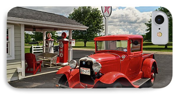 1931 Ford Truck  001 IPhone Case by George Bostian