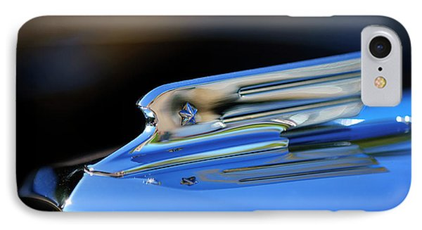 1931 Marmon Sixteen Coupe Hood Ornament 2 Phone Case by Jill Reger