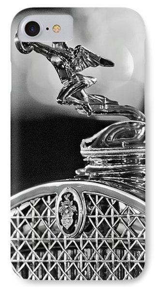 1931 Packard Convertible Victoria Hood Ornament 2 Phone Case by Jill Reger