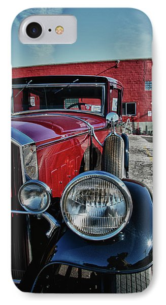 IPhone Case featuring the photograph 1931 Pierce Arow 3473 by Guy Whiteley
