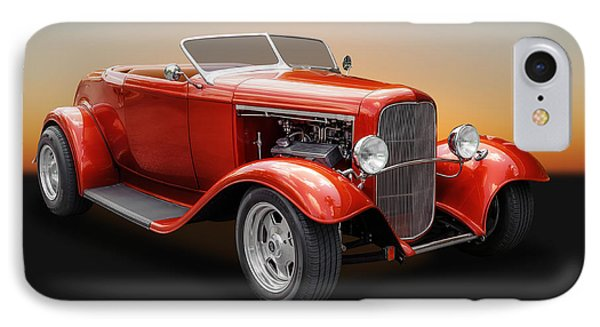 IPhone Case featuring the photograph 1932 Ford Convertible Roadster by Frank J Benz