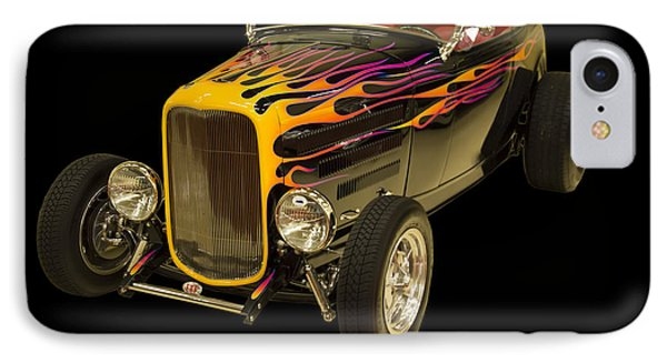 1932 Ford Roadster Hot Rod IPhone Case by Chris Flees