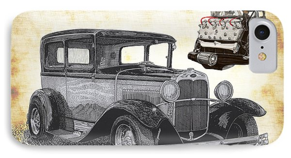 1932 Ford Victoria IPhone Case by Jack Pumphrey