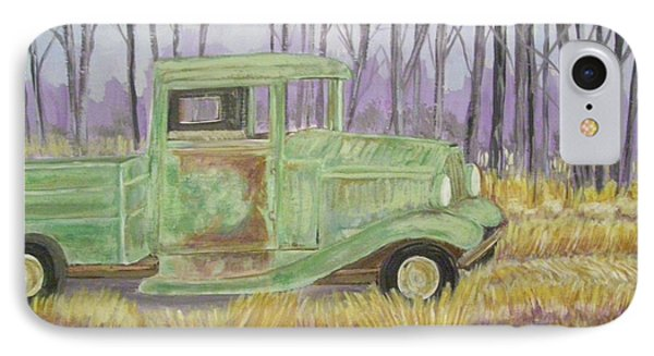 1932  Greenford Pickup Truck IPhone Case by Belinda Lawson