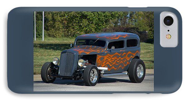 IPhone Case featuring the photograph 1933 Ford Sedan Hot Rod by Tim McCullough