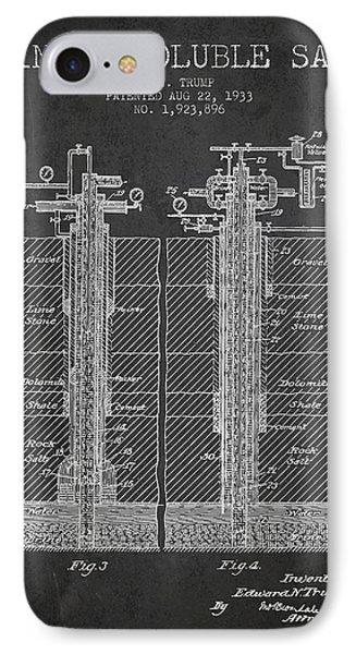 1933 Mining Soluble Salt Patent En40_cg IPhone Case by Aged Pixel