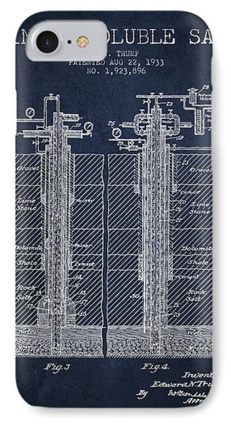 1933 Mining Soluble Salt Patent En40_nb IPhone Case by Aged Pixel