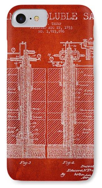 1933 Mining Soluble Salt Patent En40_vr IPhone Case