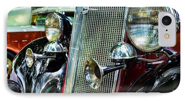1934 Chevrolet Head Lights Phone Case by Paul Ward