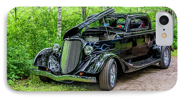 1934 Ford 3 Window Coupe Phone Case by Ken Morris