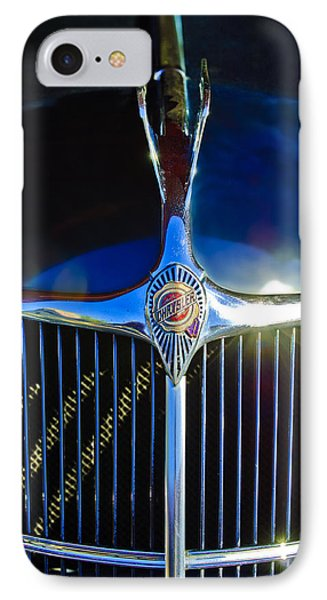 1935 Chrysler Hood Ornament 2 Phone Case by Jill Reger