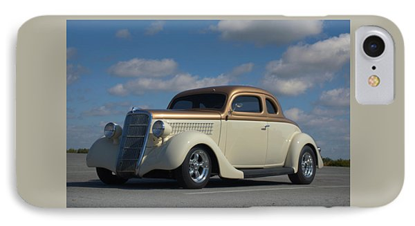 IPhone Case featuring the photograph 1935 Ford Coupe Hot Rod by Tim McCullough