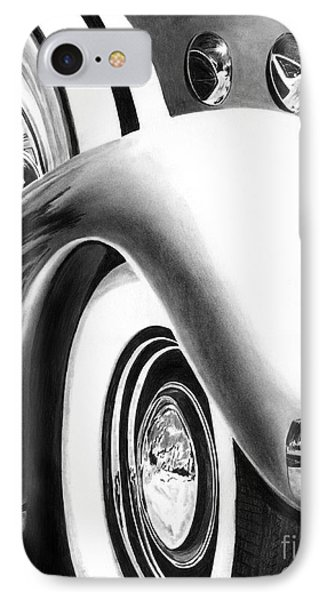 1935 Lasalle Abstract Phone Case by Peter Piatt