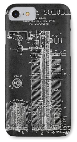 1935 Mining A Soluble Patent En39_cg IPhone Case by Aged Pixel