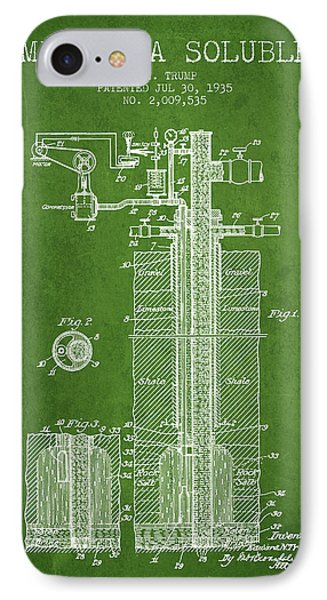 1935 Mining A Soluble Patent En39_pg IPhone Case by Aged Pixel