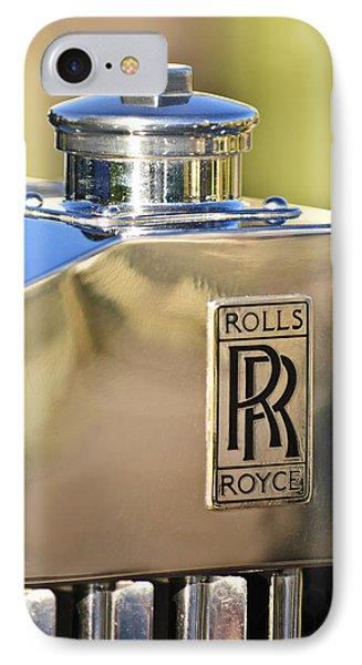 1935 Rolls-royce Phantom II Hood Ornament Phone Case by Jill Reger