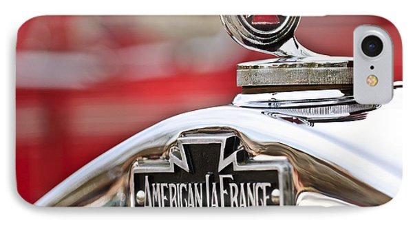 1936 American Lafrance Fire Truck Hood Ornament Phone Case by Jill Reger