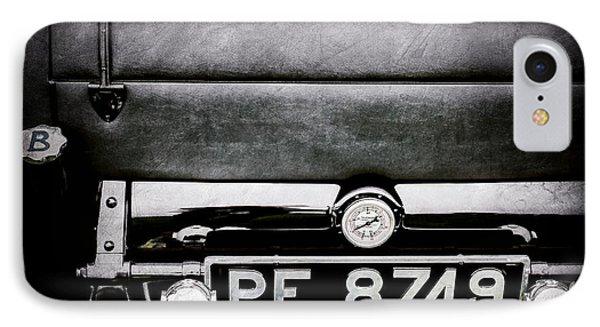 1936 Bugatti Type 57s Corsica Tourer License Plate -0067ac IPhone Case by Jill Reger