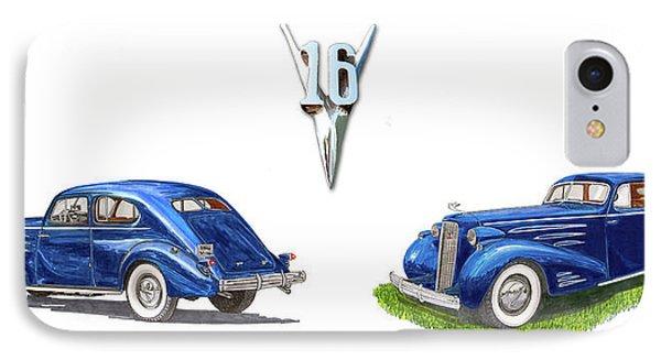 1936 Cadillac Aerodynamic Coupe IPhone Case