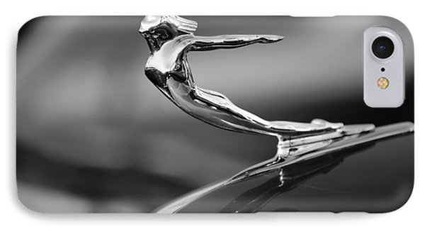 1936 Cadillac Hood Ornament 3 Phone Case by Jill Reger