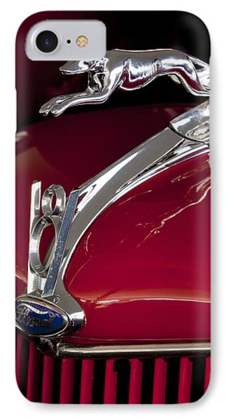 1936 Ford 68 Pickup Hood Ornament Phone Case by Jill Reger