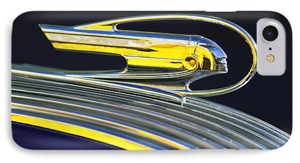 1936 Pontiac Hood Ornament IPhone Case