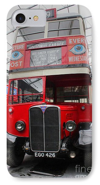 1937 Aec Regent I Bus Stl2377 IPhone Case