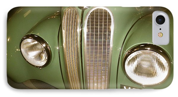 IPhone Case featuring the photograph 1937 Bmw 328 Front Detail by John Colley