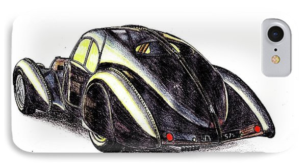 1937 Bugatti Type 57s IPhone Case