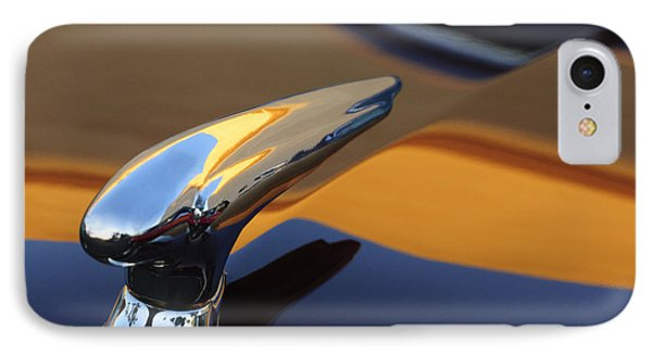 1937 Ford Hood Ornament 3 Phone Case by Jill Reger