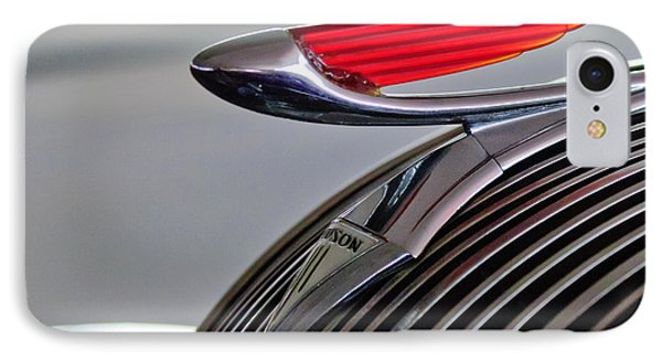 1937 Hudson Terraplane Sedan Hood Ornament Phone Case by Jill Reger