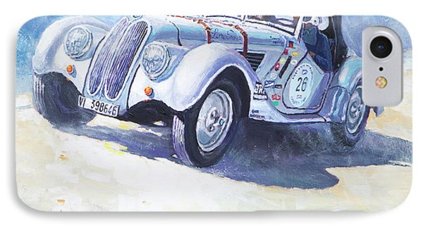 1938 Bmw 328 Roadster Caracciola Gp 2016 Winner Phone Case by Yuriy Shevchuk